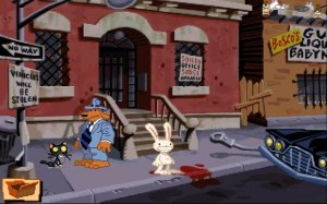 Sam & Max Hit the Road Screenshot