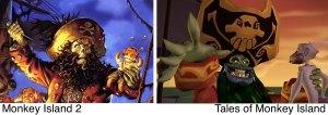 LeChuck aus Monkey Island 2 und Tales
