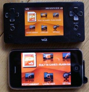 Wiz und iPhone