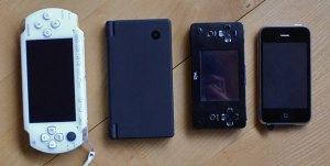 Wiz und andere portable Konsolen