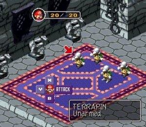 Mario RPG SNES